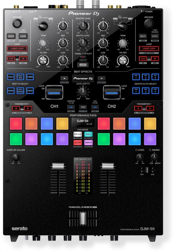 Pioneer DJM-S9 2-Channel Battle Mixer for Serato DJ