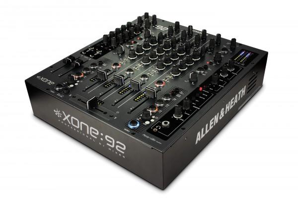 Allen & Heath Xone:92 Mixer 4 Channel DJ Mixer with VCA Faders