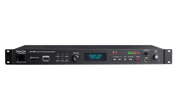 Denon DN-300R Solid-State SD/USB Audio Recorder