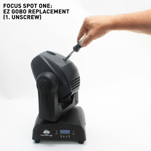 American DJ FOCUS SPOT ONE | 35W LED Moving Head Light Black