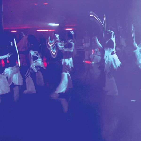 American DJ Eco UV Bar Plus IR LED Black Light Effect