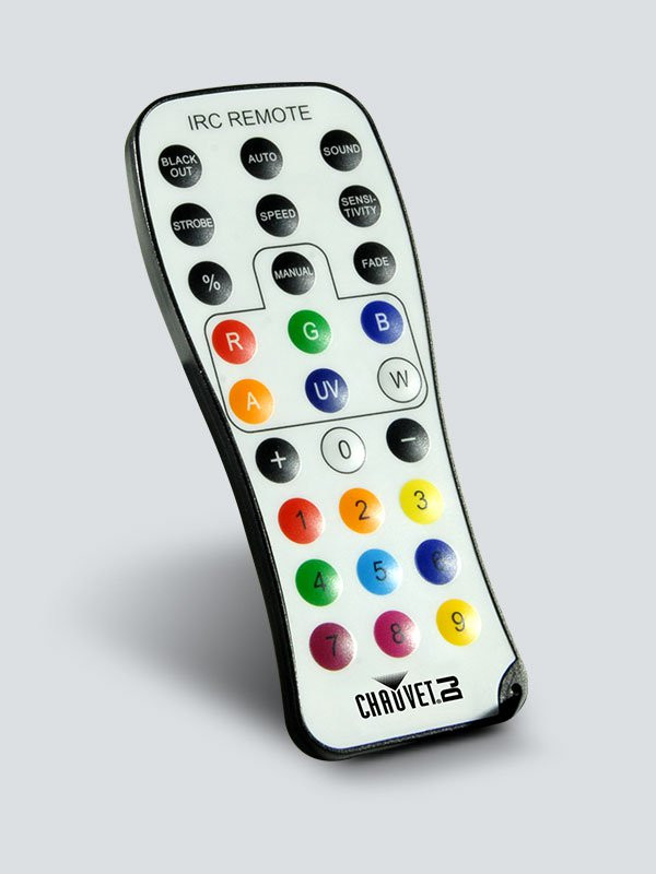 Chauvet IRC-6 Infrared Remote Control
