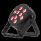 Eliminator TRIDISC9 IR RGB Led Wash Light Black