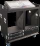 Grundorf COMBO-D16CB Mixer/Rack Combo Case with Dual 16RU Racks