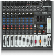Behringer XENYX X1222USB 12-Input USB Audio Mixer with Effects